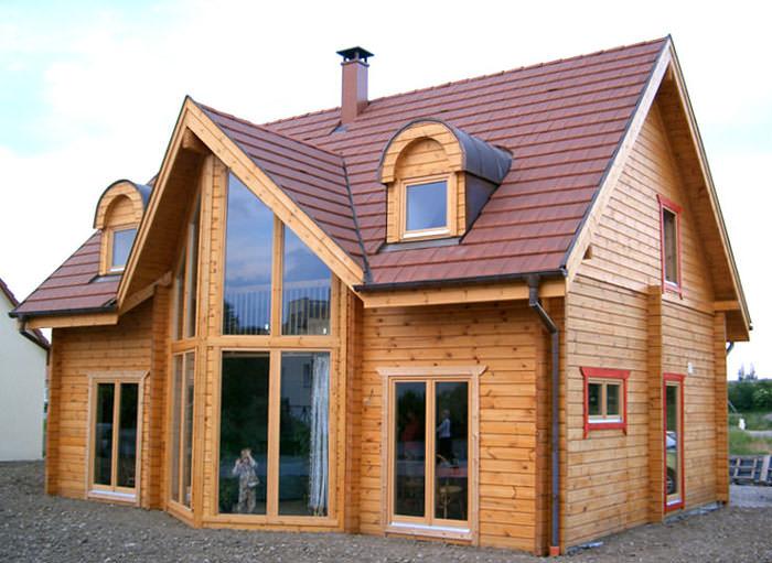 Timber frame houses photos